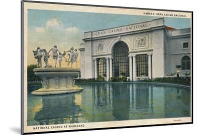 'Habana: Gran Casino Nacional. National Casino at Marianao', 1935-Unknown-Mounted Photographic Print