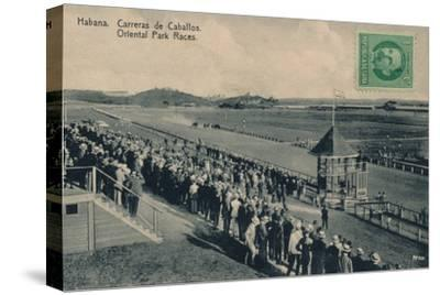 'Habana. Oriental Park Races', c1910-Unknown-Stretched Canvas Print