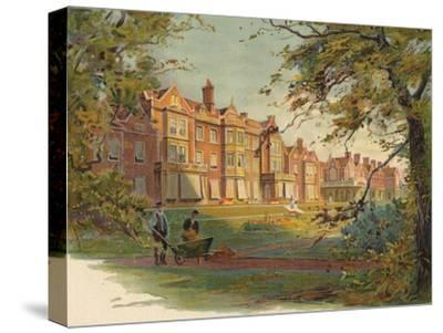 'Sandringham House', c1890-Unknown-Stretched Canvas Print