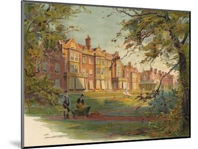 'Sandringham House', c1890-Unknown-Mounted Giclee Print
