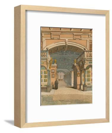 'The Bodleian Library, Oxford', c1845, (1864)-Unknown-Framed Giclee Print