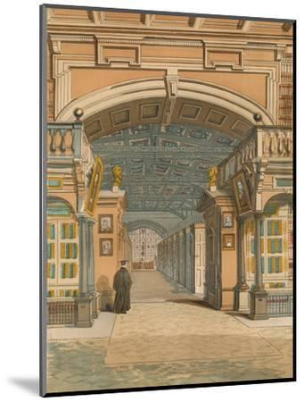 'The Bodleian Library, Oxford', c1845, (1864)-Unknown-Mounted Giclee Print