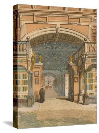 'The Bodleian Library, Oxford', c1845, (1864)-Unknown-Stretched Canvas Print