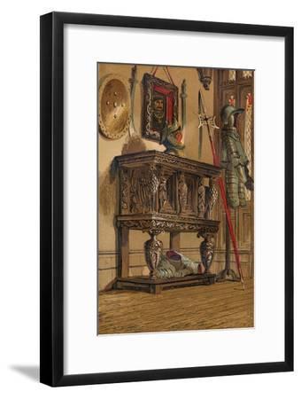 'Elizabethan Sideboard or Court Cupboard', c1845, (1864)-Unknown-Framed Giclee Print