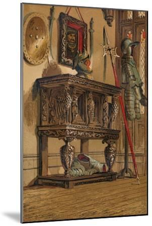 'Elizabethan Sideboard or Court Cupboard', c1845, (1864)-Unknown-Mounted Giclee Print