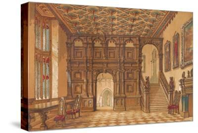 'Methley Hall', c1845, (1864)-Unknown-Stretched Canvas Print