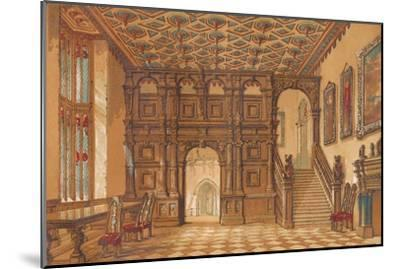 'Methley Hall', c1845, (1864)-Unknown-Mounted Giclee Print
