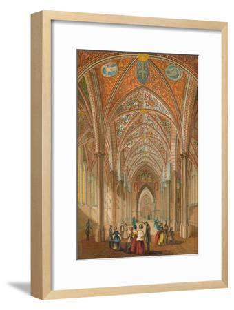 'Interior of the Temple Church', c1845, (1864)-Unknown-Framed Giclee Print