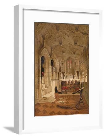 'Chantry Chapel', c1845, (1864)-Unknown-Framed Giclee Print