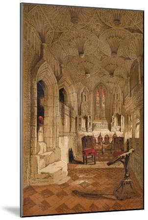 'Chantry Chapel', c1845, (1864)-Unknown-Mounted Giclee Print