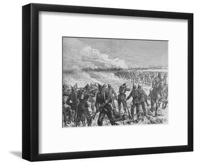 'The Battle of Langensalza', c1890-Unknown-Framed Giclee Print
