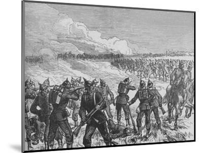 'The Battle of Langensalza', c1890-Unknown-Mounted Giclee Print