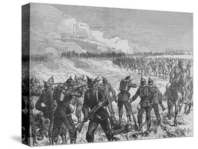 'The Battle of Langensalza', c1890-Unknown-Stretched Canvas Print