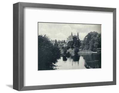 'From the Lock', 1926-Unknown-Framed Photographic Print