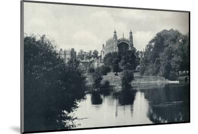 'From the Lock', 1926-Unknown-Mounted Photographic Print
