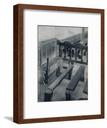 'The Seat of the Ostiarius, 1926-Unknown-Framed Photographic Print