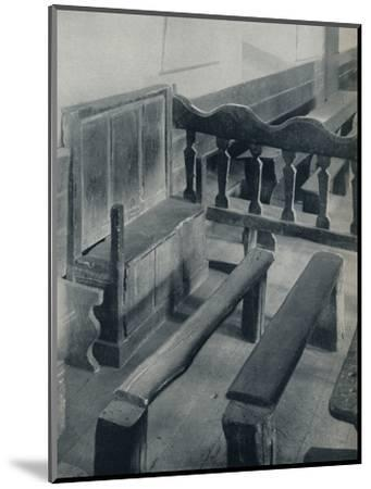 'The Seat of the Ostiarius, 1926-Unknown-Mounted Photographic Print