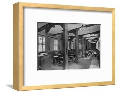 'Looking Down Lower School', 1926-Unknown-Framed Photographic Print