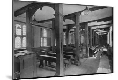 'Looking Down Lower School', 1926-Unknown-Mounted Photographic Print