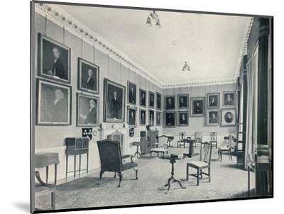 'The Drawing-Room', 1926-Unknown-Mounted Photographic Print