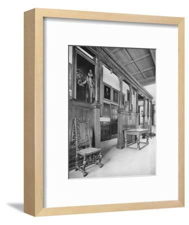 'Election Hall Screen', 1926-Unknown-Framed Photographic Print