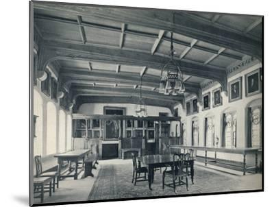 'Election Hall', 1926-Unknown-Mounted Photographic Print
