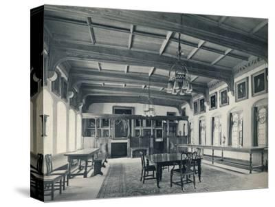 'Election Hall', 1926-Unknown-Stretched Canvas Print