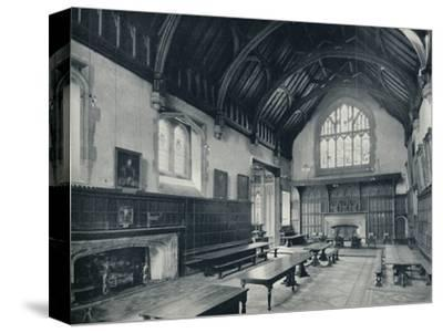 'College Hall, Looking West', 1926-Unknown-Stretched Canvas Print