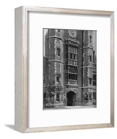 'The Entrance to Cloisters Under Lupton's Tower', 1926-Unknown-Framed Photographic Print