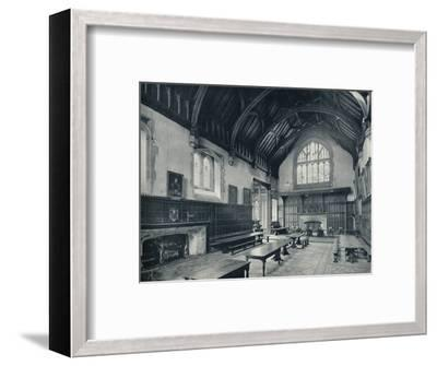 'College Hall, Looking West', 1926-Unknown-Framed Photographic Print