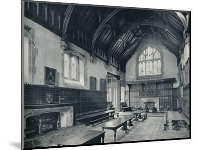 'College Hall, Looking West', 1926-Unknown-Mounted Photographic Print