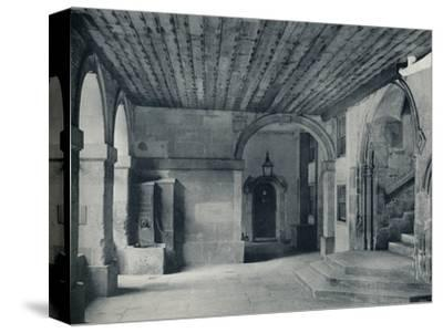 'Cloister Pump and Hall Steps', 1926-Unknown-Stretched Canvas Print