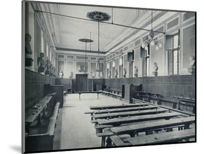 'Upper School, Looking South', 1926-Unknown-Mounted Photographic Print