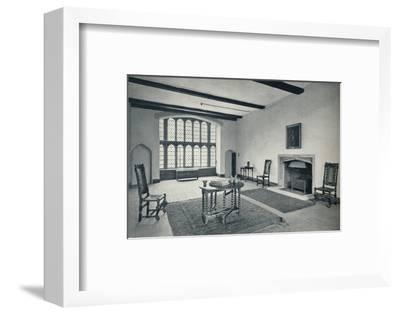 'Jericho, The Upper Room in Lupton's Tower', 1926-Unknown-Framed Photographic Print