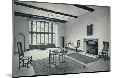 'Jericho, The Upper Room in Lupton's Tower', 1926-Unknown-Mounted Photographic Print