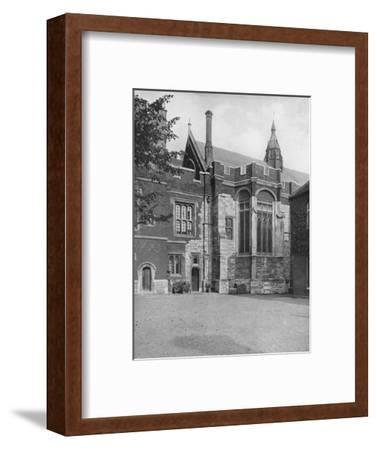 'College Hall, from Brewhouse Yard', 1926-Unknown-Framed Photographic Print