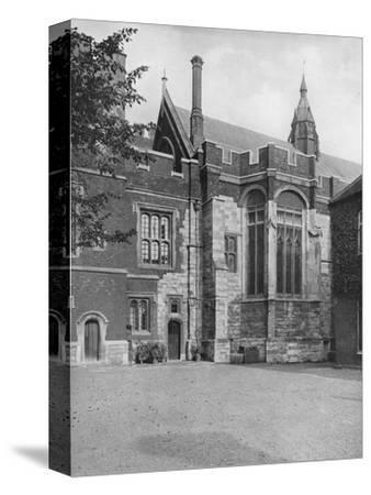 'College Hall, from Brewhouse Yard', 1926-Unknown-Stretched Canvas Print