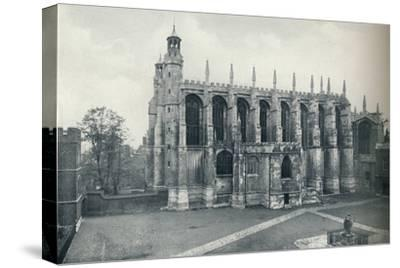 'The Chapel, from the Roof of Long Chamber', 1926-Unknown-Stretched Canvas Print
