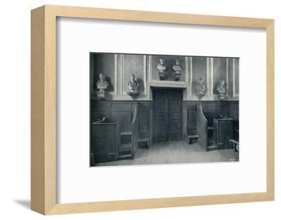 'The Door from Upper School to Chapel Stairs', 1926-Unknown-Framed Photographic Print