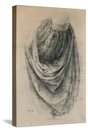 'Study of a Sleeve', c1480 (1945)-Leonardo da Vinci-Stretched Canvas Print