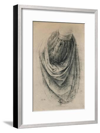 'Study of a Sleeve', c1480 (1945)-Leonardo da Vinci-Framed Giclee Print