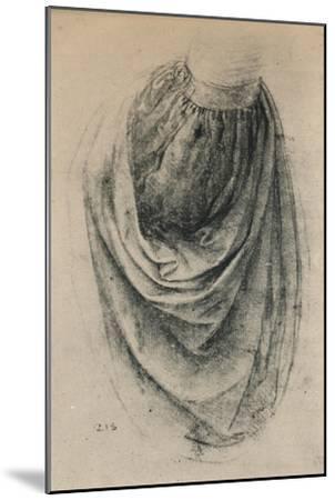 'Study of a Sleeve', c1480 (1945)-Leonardo da Vinci-Mounted Giclee Print