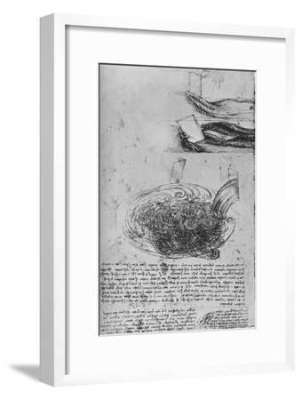 'Studies of Water Formations', c1480 (1945)-Leonardo da Vinci-Framed Giclee Print
