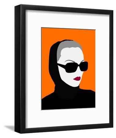 Lady No. 10-Sean Salvadori-Framed Art Print