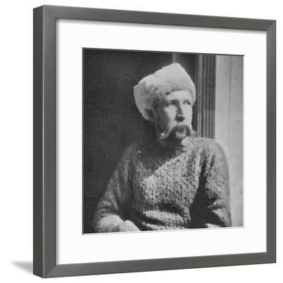 'Adolf Juell', 1895, (1897)-Unknown-Framed Photographic Print