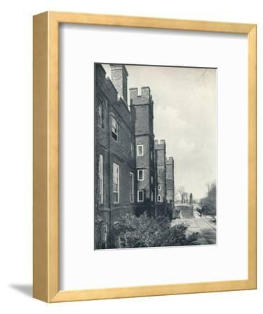 'The East Front of the College', 1926-Unknown-Framed Photographic Print
