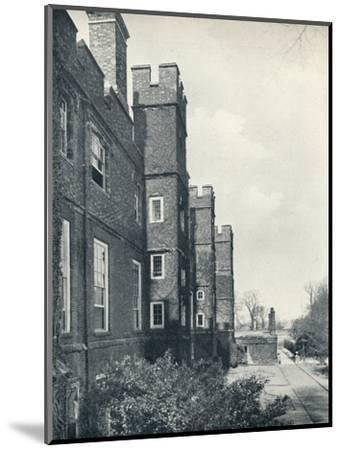 'The East Front of the College', 1926-Unknown-Mounted Photographic Print