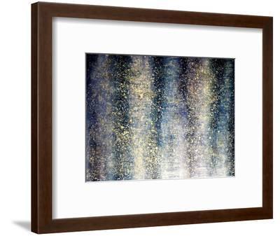 Shimmering deep-Hyunah Kim-Framed Art Print