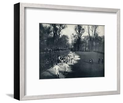 'The Wall', 1926-Unknown-Framed Photographic Print