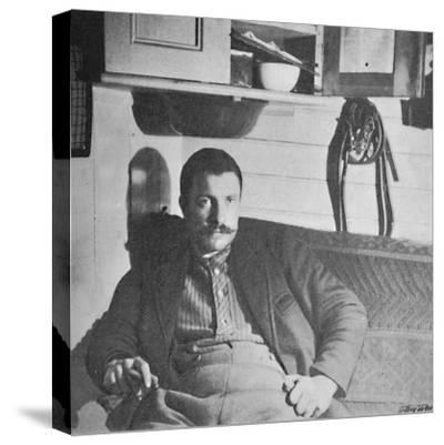 'Dr. Blessing in his Cabin', 1893-1896, (1897)-Unknown-Stretched Canvas Print